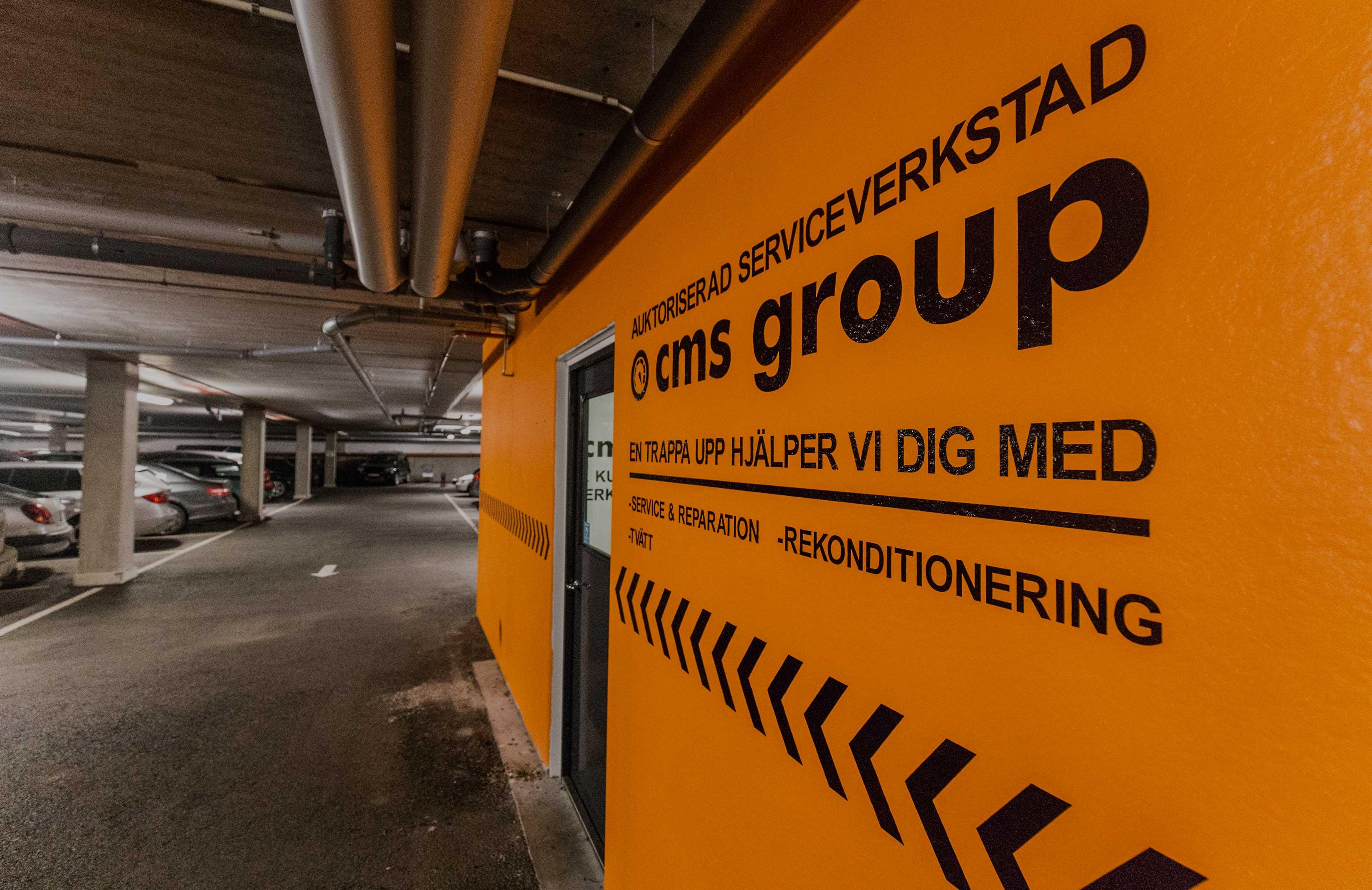 CMS Group tar hand om din bil medan du är bortrest!